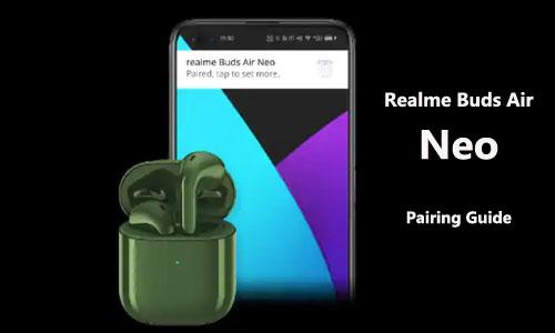 How To Pairing The Realme Buds Air Neo With Ios Iphone Or Android Devices Gearbest Blog