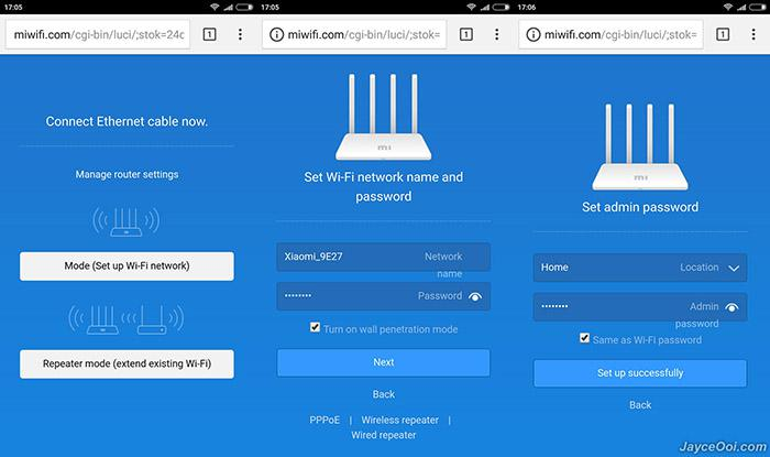 How to connect Xiaomi Mi router 3 to a PC or laptop and