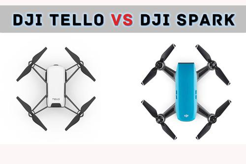 DJI Tello vs Spark: find out which portable drone is right for you