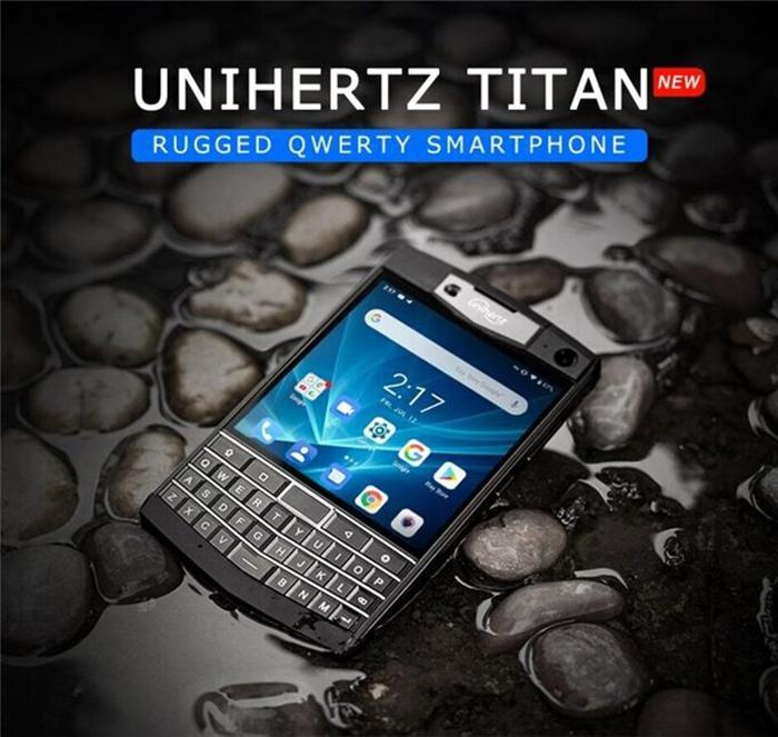 Unihertz Titan is the heir to the idea of the Blackberry with a