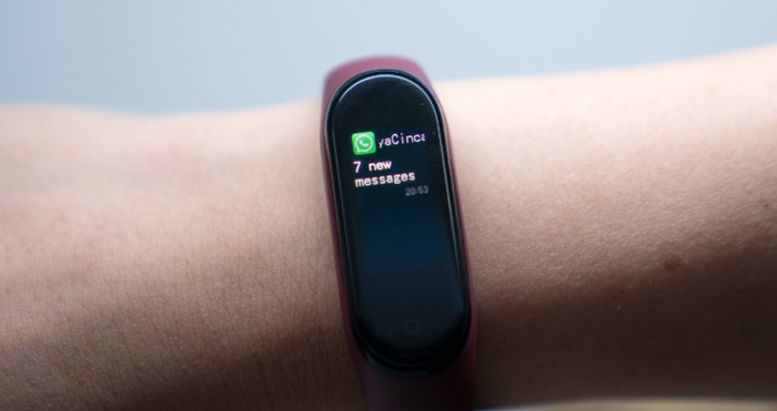 How to set the message notifications of Xiaomi Mi band 4