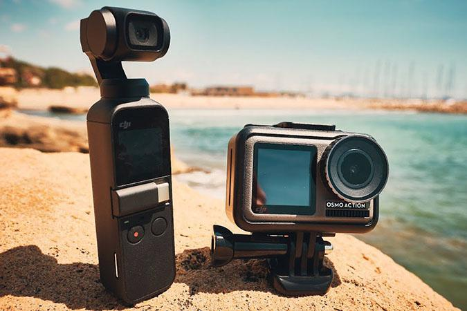 DJI Osmo Pocket против DJI Osmo Action