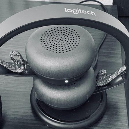 Logitech Zone Wireless Bluetooth Headset Review The Competitor Of Jabra Evolve 75 Gearbest Blog
