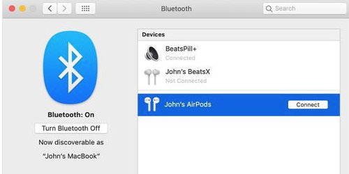 how to connect airpods to windows computer