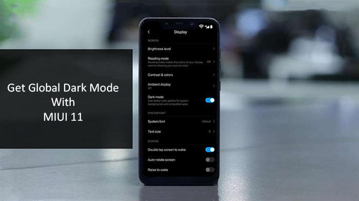 MIUI 11 global dark mode: supported devices and how to