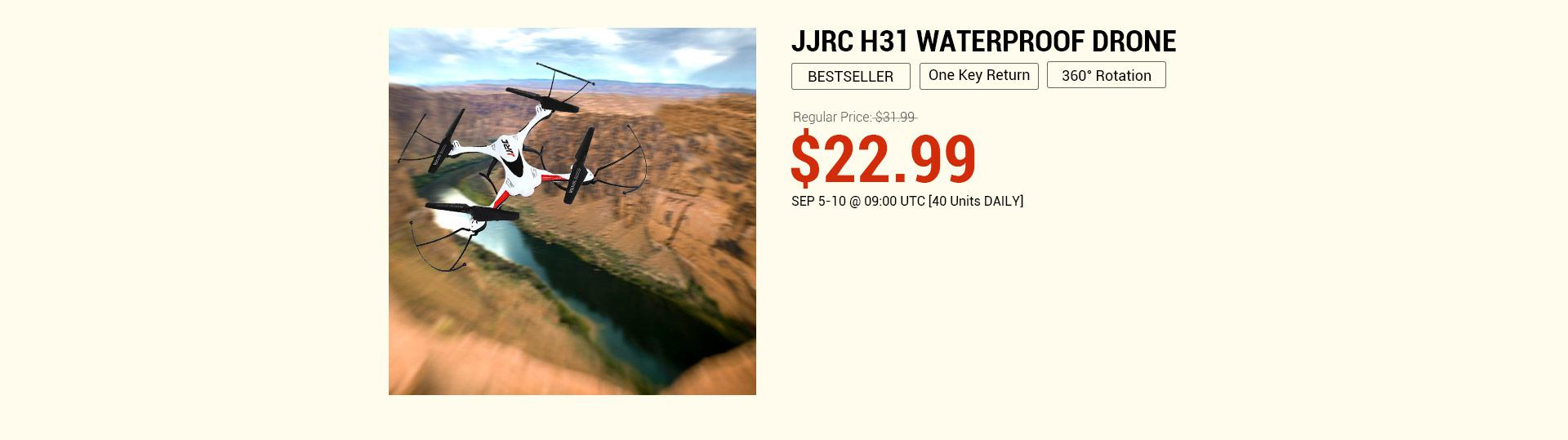 JJRC H31 Flash Sale