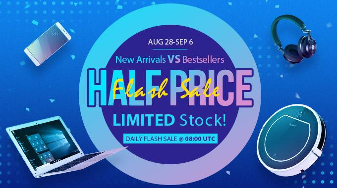 New Arrivals vs Best Sellers - Half Price Flash Sale