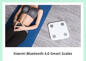 Xiaomi Bluetooth 4.0 Smart Scales