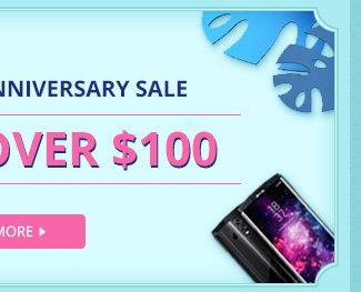 Homtom 5th Anniversary Sale