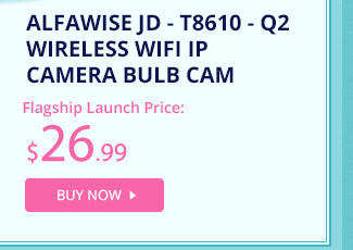Alfawise JD - T8610 - Q2 Wireless WiFi IP Camera Bulb Cam