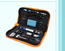 EU 220V 60W Electric Soldering Iron Welding Tool Kit Solder Wire Tweezers
