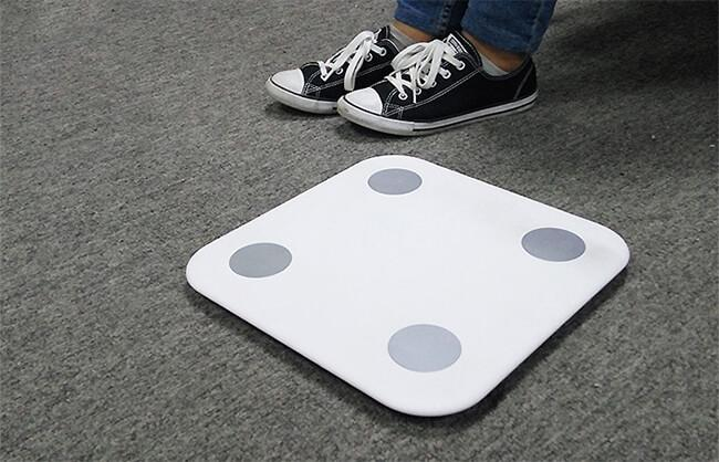 Xiaomi body fat scale image
