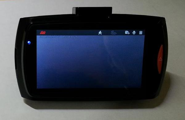 Dome G30B car DVR's screen becomes black