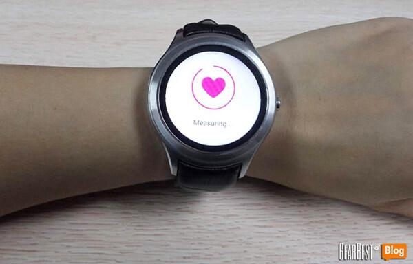 NO.1 D5 smart watch heart rate measurement