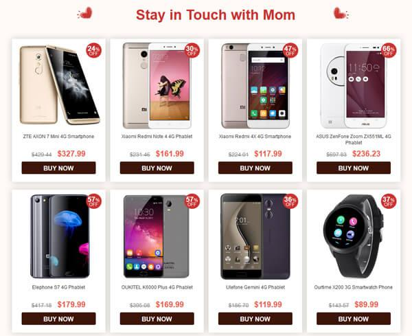 Stay in touch with Mom