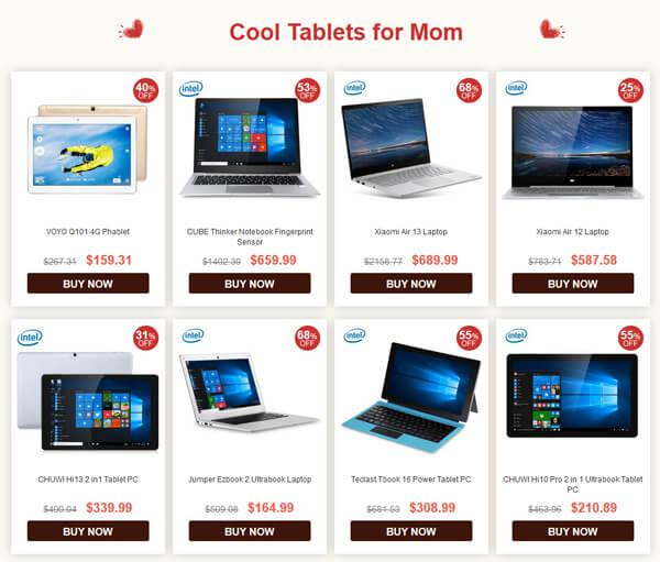 A cool tablet for mom