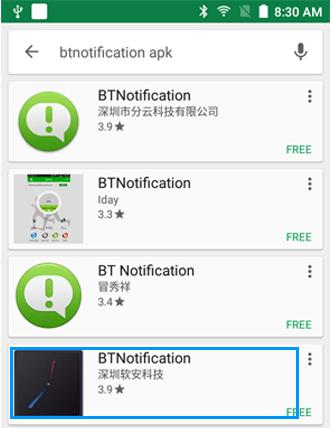 BTNotification