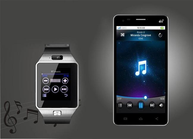 How to sync the DZ09D smart watch phone with your phone