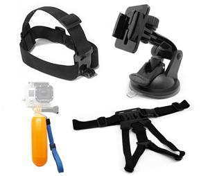 Universal Action Camera Accessory Kit