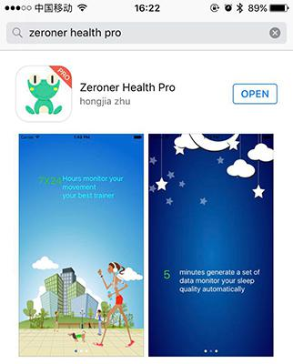 download Zeroner health Pro