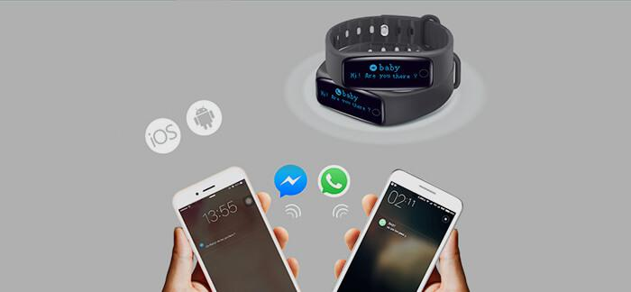 connect Teclast H30 smart wristband to phone