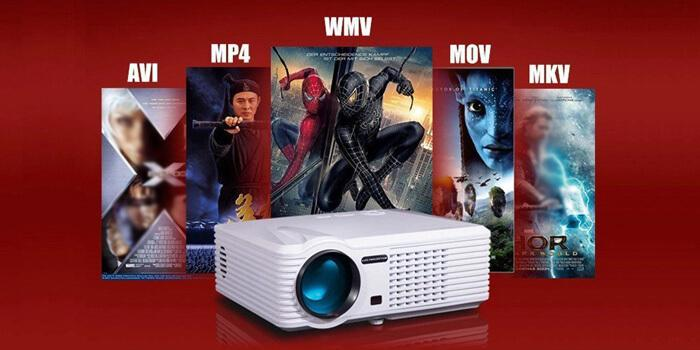 PRS200 Multifunctional LED Projector