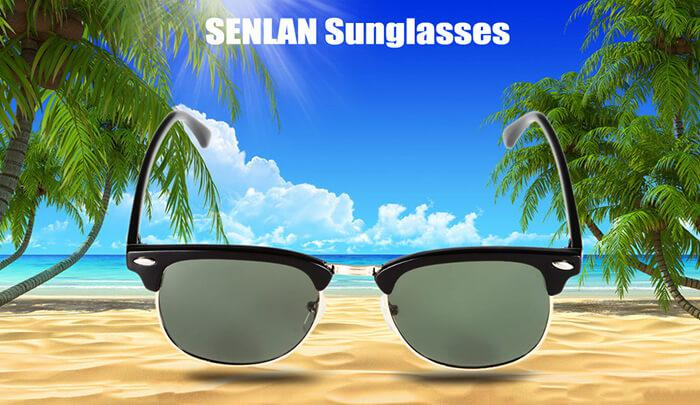 UV-resistant PC lens sunglasses
