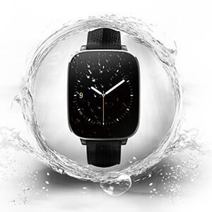 The Zeblaze crystal smartwatch stops working after getting wet.