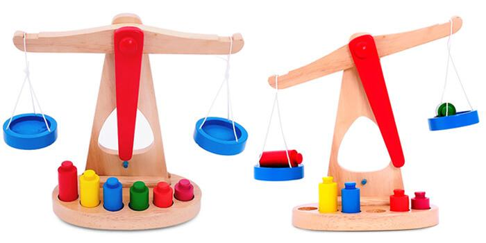 Early Development Balance Scale Toys