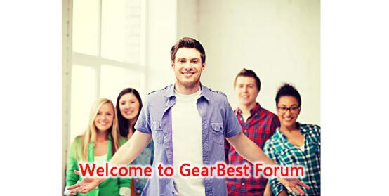 Join GearBest Forum
