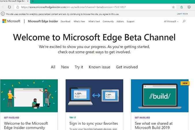 Chromium Edge: Chromium-based Microsoft Edge Beta leaked - try it