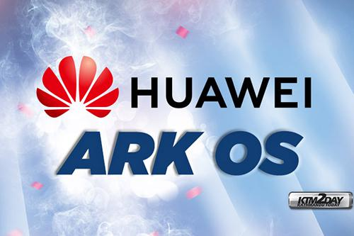 Huawei's new operating system name: