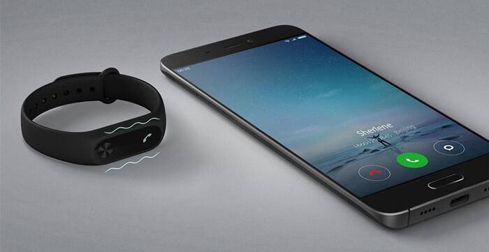 Xiaomi Mi smartphone and Mi band