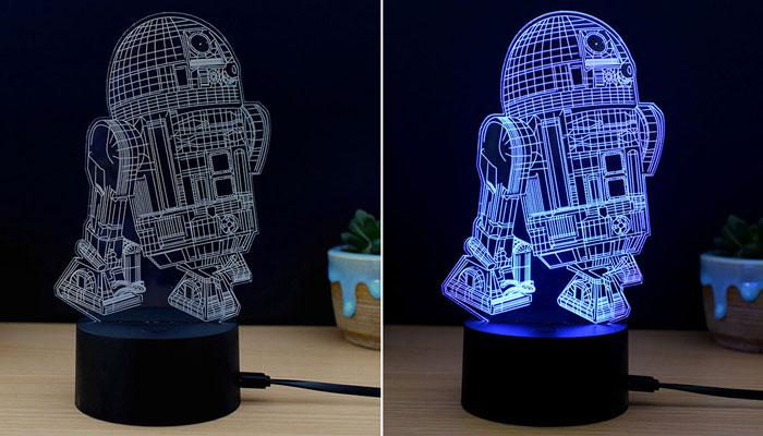 M.Sparkling 3D  night light