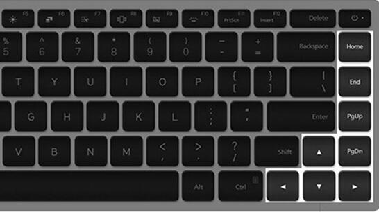 function keys on Mi Notebook Pro keyboard