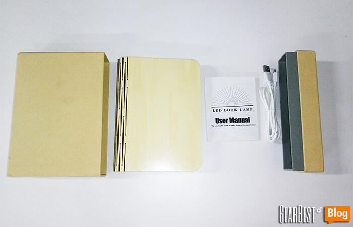 book lamp unboxing