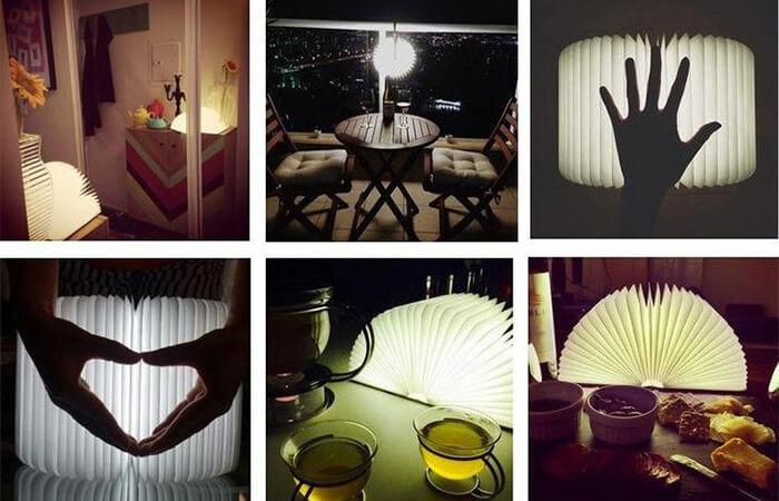 the book lamp can be used in any occasion