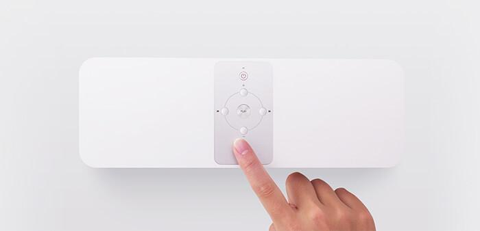 the main controls of Xiaomi Mi Smart Speaker