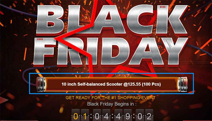 Black Friday News Ticker