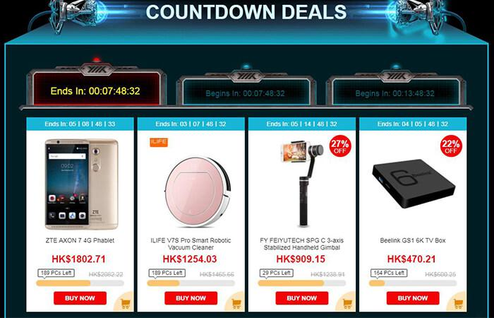 countdown deals of Black Friday