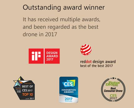 the awards that Hover Camera Passport Drone has received