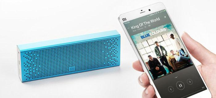 play music through Xiaomi Bluetooth speaker