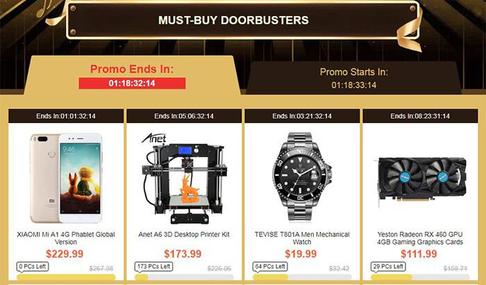 Must-buy Doorbusters