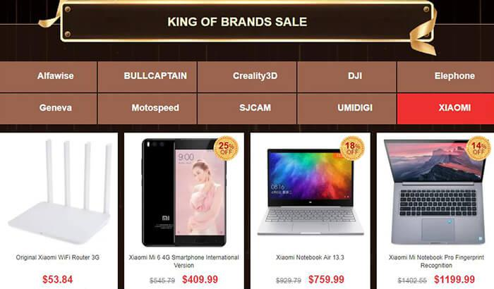King of Brands Sale