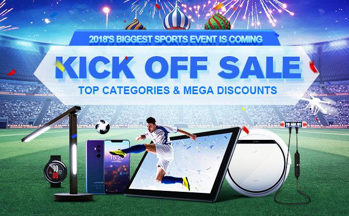 GearBest World Cup 2018 Kick off Sale