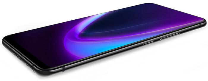 the expansive full-view 8.59 inch display on Vivo NEX 4G phablet