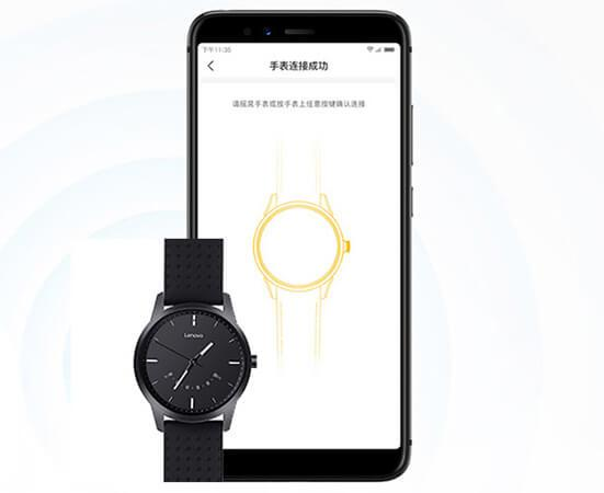 the Bluetooth 5.0 on Lenovo Watch 9