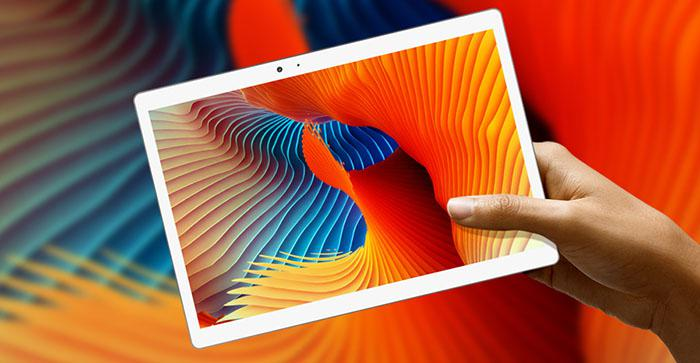 the 10.1inch screen of Teclast T20 4G phablet