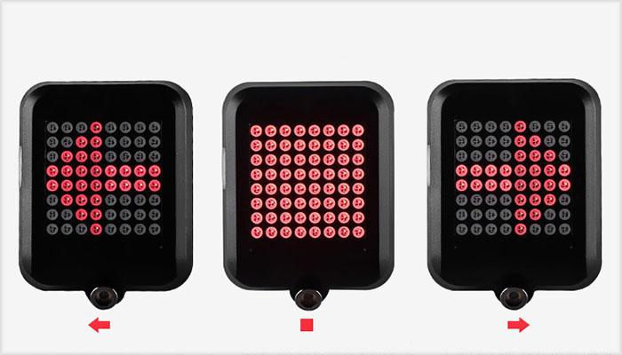 the auto sensing of intelligent bicycle direction indicator light
