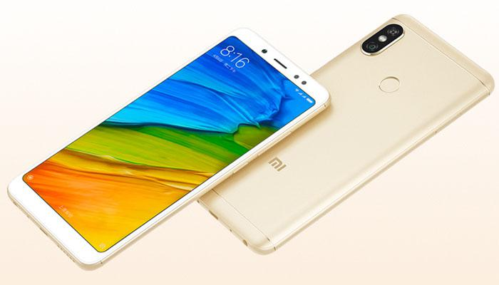 the display of Redmi Note 5